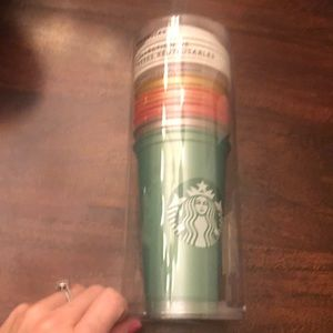 Other - STARBUCKS REUSABLE CUP COLLECTION BRAND NEW